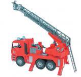 Bruder MAN TGA Feuerwehr mit Drehleiter, Wasserpumpe und L & S Module, Profi-Serie 2771