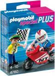 Playmobil Jungs mit Racingbike 4780