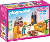 Playmobil Wohnzimmer mit Kaminofen 5308