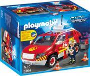 Playmobil Brandmeisterfahrzeug mit Licht und Sound 5364