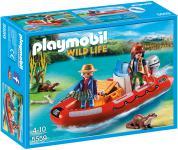 Playmobil Schlauchboot mit Wilderern 5559