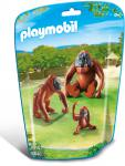 Playmobil 2 Orang-Utans mit Baby  6648