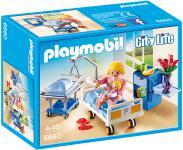 Playmobil Krankenzimmer mit Babybett 6660
