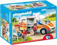 Playmobil Krankenwagen mit Licht und Sound 4008789066855