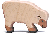 Holztiger Schaf, fressend 80072