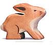 Holztiger Hase, klein 80100