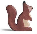 Holztiger Eichhörnchen, braun 80106
