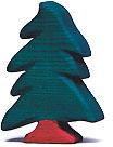 Holztiger Nadelbaum, klein 80221