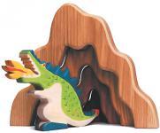 Holztiger Drache, grün 80279