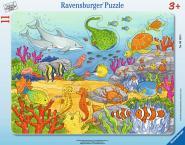 Ravensburger Fröhliche Meeresbewohner, 8-17 T. Rahmenpuzzles 061495