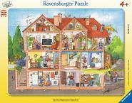 Ravensburger Blick ins Haus, 30-48 T. Rahmenpuzzles 061549
