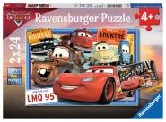 Ravensburger Disney Cars, 2 X 24 Teile 078196