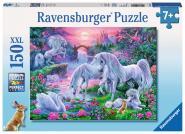 Ravensburger Einhörner im Abendrot, 150 Teile XXL 100217