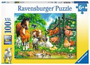 Ravensburger Versammlung der Tiere, 100 Teile XXL 106899