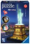 Ravensburger Freiheitsstatue bei Nacht , 3D Puzzle-Bauwerke 125968