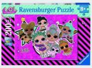 Ravensburger L.O.L. Girlpower          200p, 200 Teile XXL 12884