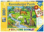 Ravensburger Liebste Bauernhoftiere, Sonderserie 100/200 T.XXL 136964