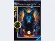 Ravensburger Leuchtender Wolf          500p, Sonderserie 500 Teile 13970