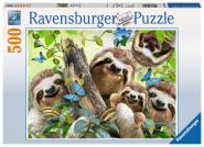 Ravensburger Faultier Selfie, 500 Teile 147908
