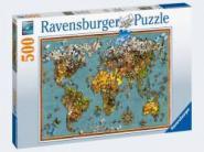 Ravensburger Antike Schmetterl.-Weltk. 500p, 500 Teile 15043