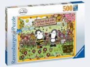 Ravensburger Sheepworld Bienenliebe    500p, 500 Teile 15044