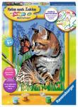 Ravensburger Katze mit Schmetterling, MnZ Serie D 286515