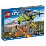 LEGO® City Vulkan-Versorgungshelikopter 60123
