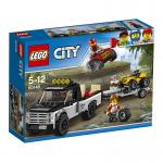 LEGO® City Quad-Rennteam 60148