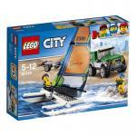 LEGO® City Geländewagen mit Katamaran 60149