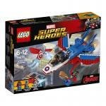 LEGO® Marvel Super Heroes™ Captain America: Düsenjet 76076