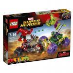LEGO® Marvel Super Heroes™ Hulk gegen  Red Hulk 76078