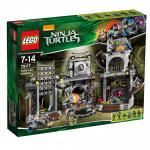 LEGO® Ninja Turtles 79117 Angriff auf das Turtle-Versteck
