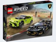 LEGO® Speed Champions Lamborghini Urus ST-X & Lamborghini Huracán Super Trofeo EVO 76899