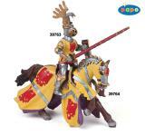 Papo Pferd des Ritters Godefroy im Turnier rot 39764