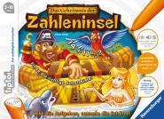 Ravensburger Geheimnis der Zahleninsel , tiptoi Spiele/Puzzles 005123