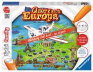 Ravensburger Quer durch Europa, tiptoi Spiele/Puzzles 005796