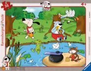 Ravensburger Kinderpuzzle Gustav entspannt 20 Teile