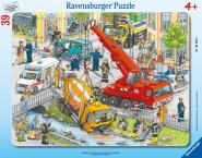 Ravensburger Rettungseinsatz 30-48 Teile Puzzle Rahmenpuzzles