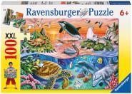Ravensburger Bunter Ozean, 100 Teile XXL 106813