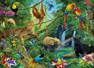 Ravensburger Tiere im Dschungel, 200 Teile XXL 126606