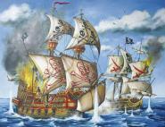 Ravensburger Piraten 200 Teile Puzzle XXL