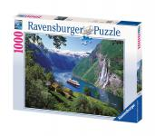 Ravensburger Puzzle Norwegischer Fjord 1000 Teile