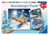 Ravensburger 3 X 49 Teile Puzzle Action Sport