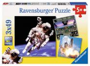 Ravensburger 3 X 49 Teile Puzzle Weltall