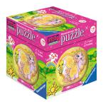 Ravensburger 3D Puzzle-Ball 54 T. 3DPuzzle-Ball Filly Pferde
