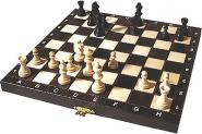 Wegiel Schach Set Tourist Black
