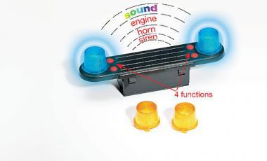 Bruder Zubehör: Light & Sound Module (trucks) 2801