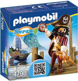 Playmobil Sharkbeard 4798