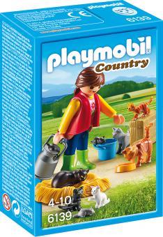 Playmobil Bunte Katzenfamilie 6139