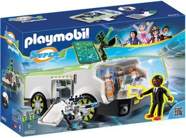 Playmobil Techno Chamäleon mit Agent Gene 6692